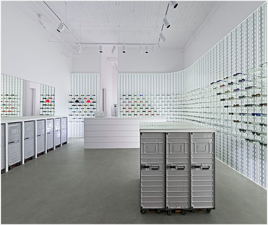 Mykita&#8217;s new store concept