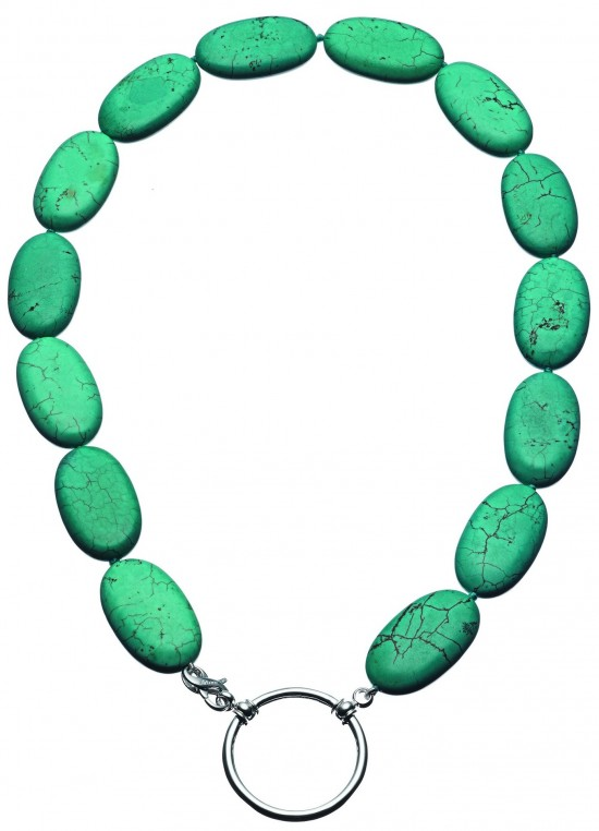Turquoise beads from La Loop