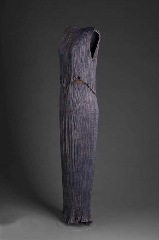 Luxurious pleats and drape by Fortuny