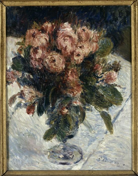 Renoir Roses Mousseuses