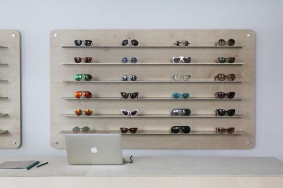Frame display at Hello Glasses