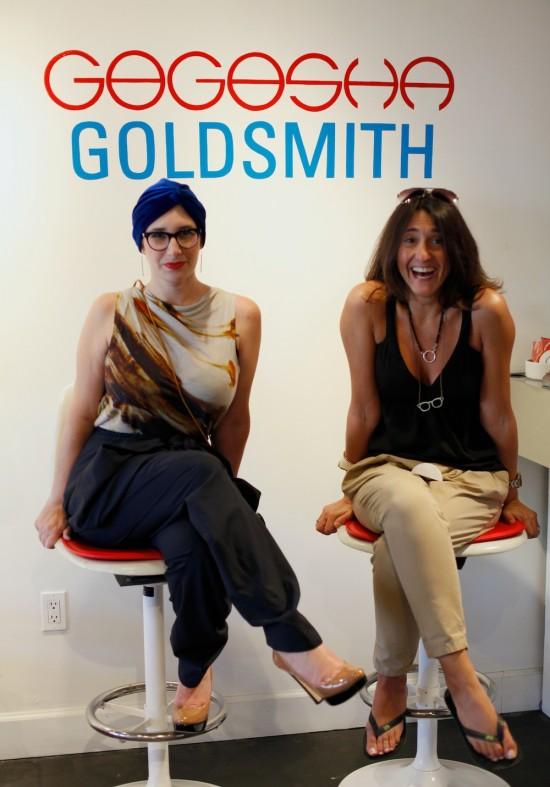Julia Gogosha and Claire Goldsmith