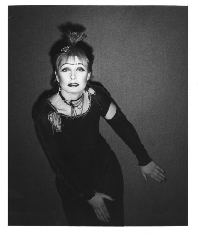 adjZandra Rhodes photograph by John Swannell