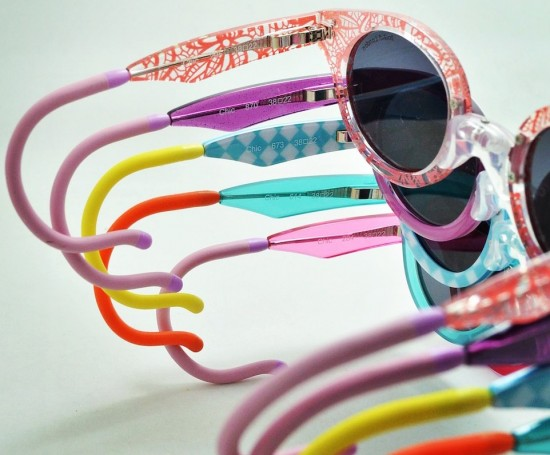 Lively, bright colours for children's eyewear from Zoobug London