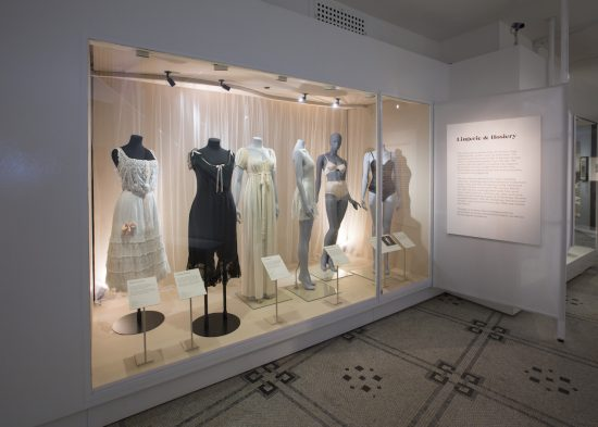 Installation view from Undressed: A Brief History of Underwear