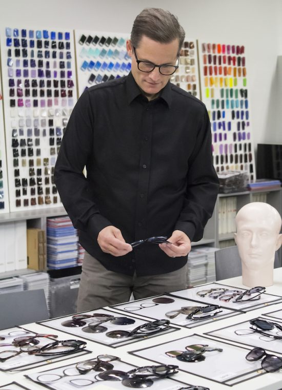"""Eyewear and sun wear is a great way for an individual to have access to creative and commanding design ideas."" David Duralde"