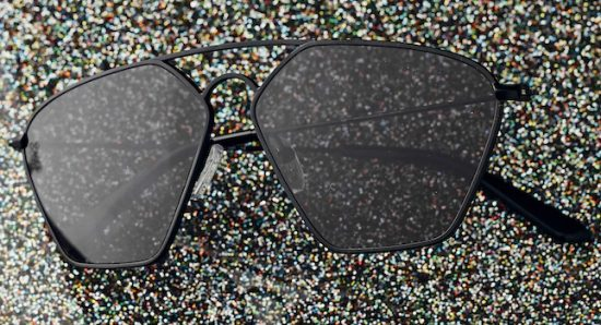 Double bridge sunglasses with a difference: GeoIII by Smoke x Mirrors