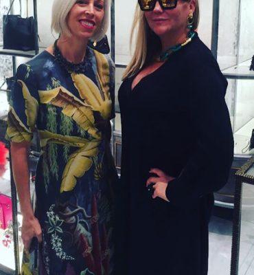 Anna-Karin Karlsson at Bergdorf Goodman