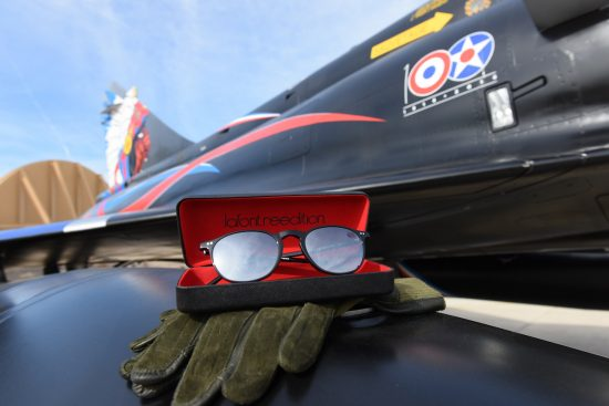 Collaborative venture: Lafont's frame tribute to the La Fayette Squadron