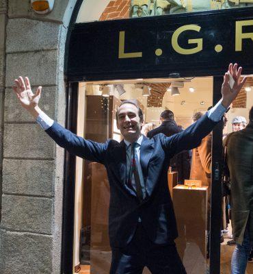L.G.R Pop up boutique in Milan