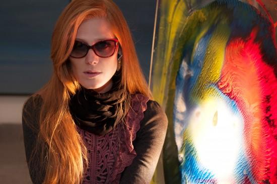Laura Bartoli wearing Vanni Backlight