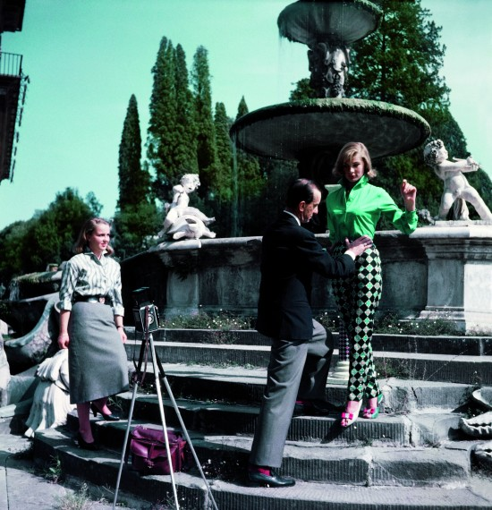 Emilio Pucci in Florence Italy on a fashion shoot