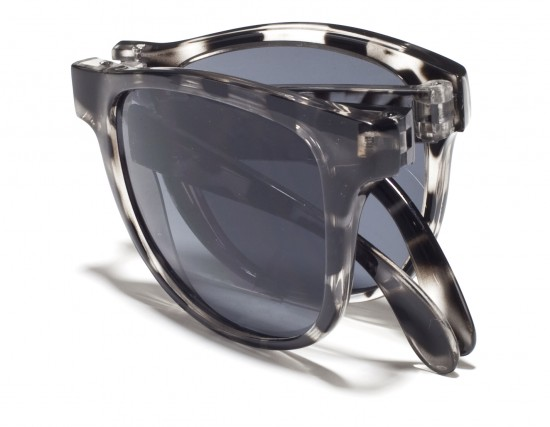 Sunpocket sunglasses when folded
