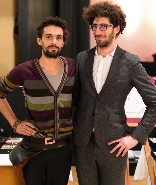 Parisian designers Lucas de Staël and Jérémy Tarian at HOF Zurich
