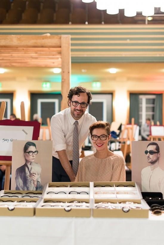 Susanne Klemm and Etienne Frederiks at their HOF Zurich booth