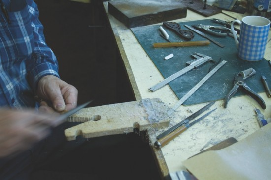 Specialist crafting at Algha Works