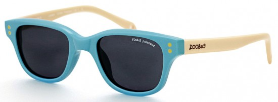 ZB Sunglasses by Zoobug in seaside tones of turquoise and sand