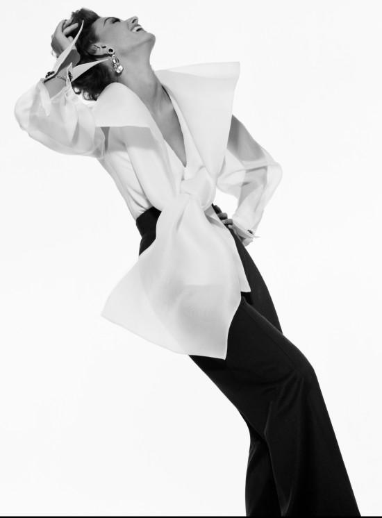 Gianfranco Ferre advert, Model Aly Dunne Fall/Winter 1991