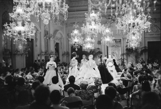 Fashion Show in Sala Bianca 1955
