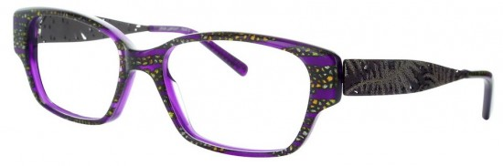 Gold Flecks shimmer on Singuliere by Lafont Paris