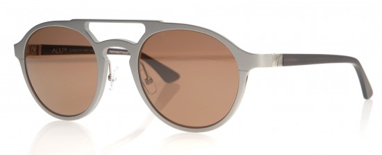 A neutral metallic finish in the new Alium Sunglasses edition