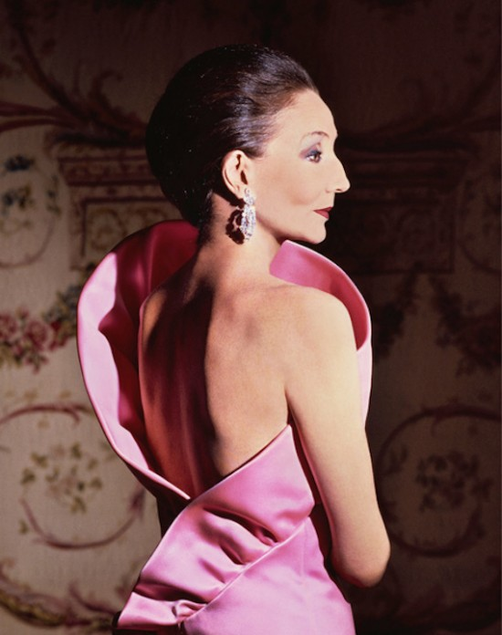 Jacqueline de Ribes in her own design,1983