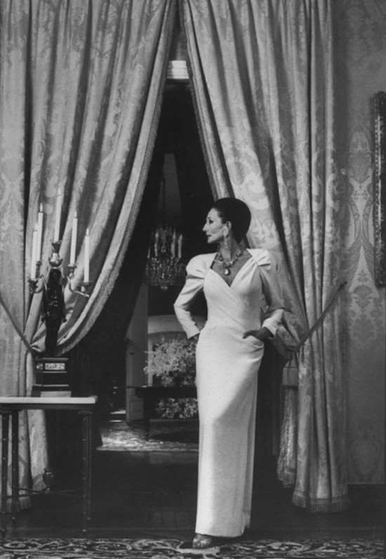 Jacqueline de Ribes in her own design, 1985