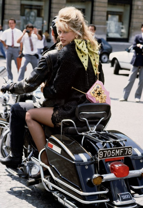 Claudia Schiffer in Paris by Herb Ritts, 1989 Herb Ritts Foundation/Trunk Archive
