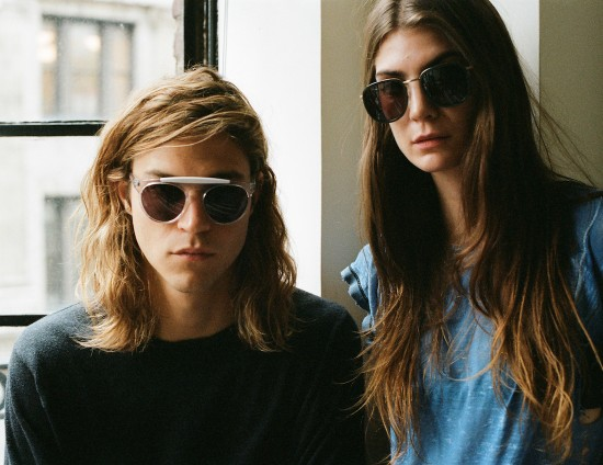Atomic (left) and Golden Brown (right) dynamic sunglass appeal by Smoke X Mirrors