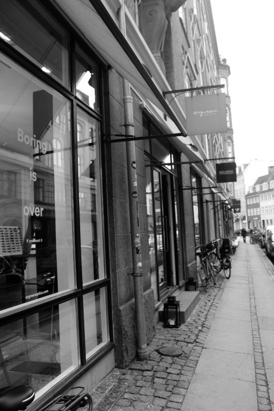 The flagship store in Copenhagen