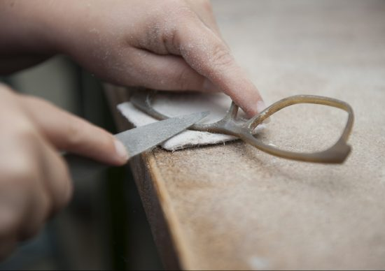 Handcrafted by artisans: Götti horn frames