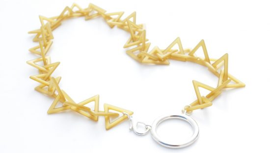 Acetate chain by Valrose. Made in France.