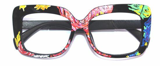 LaFrida handpainted Eyewear by Erida Schaefer - Brazil