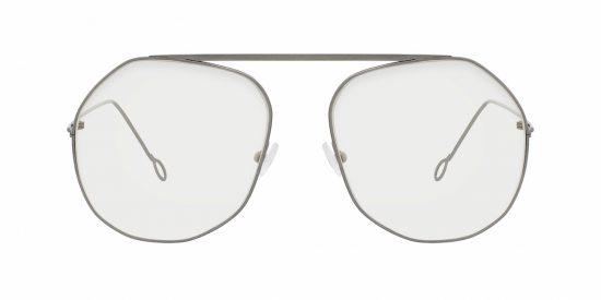 041b4ddce4  Loose Optical  by Delirious Eyewear – a dramatic shape in beta-titanium