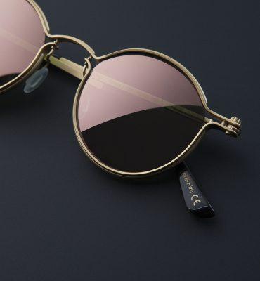 Tavat Eyewear: Pantos 18K gold