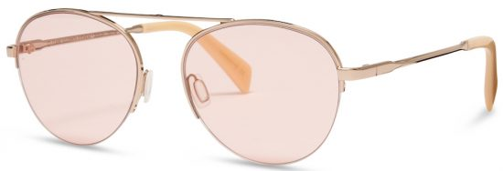 5391e67afa Dean in Rose Gold from the Claire Goldsmith Optical collection