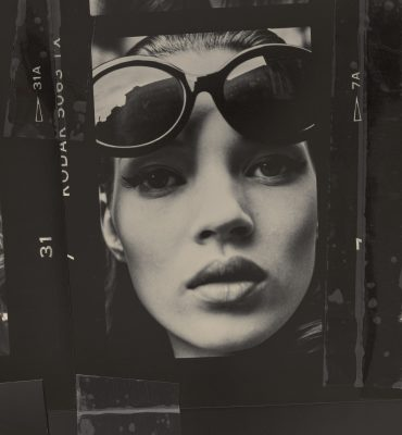 Kate Moss, 1992 sunglasses: new collaboration