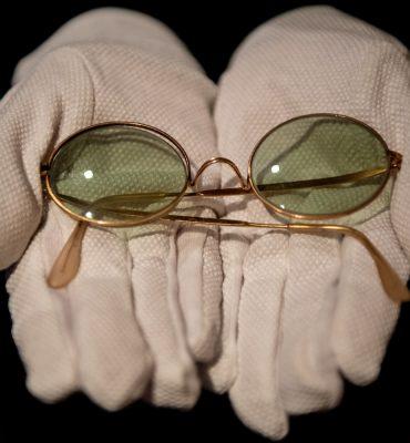 John Lennon's glasses in London auction