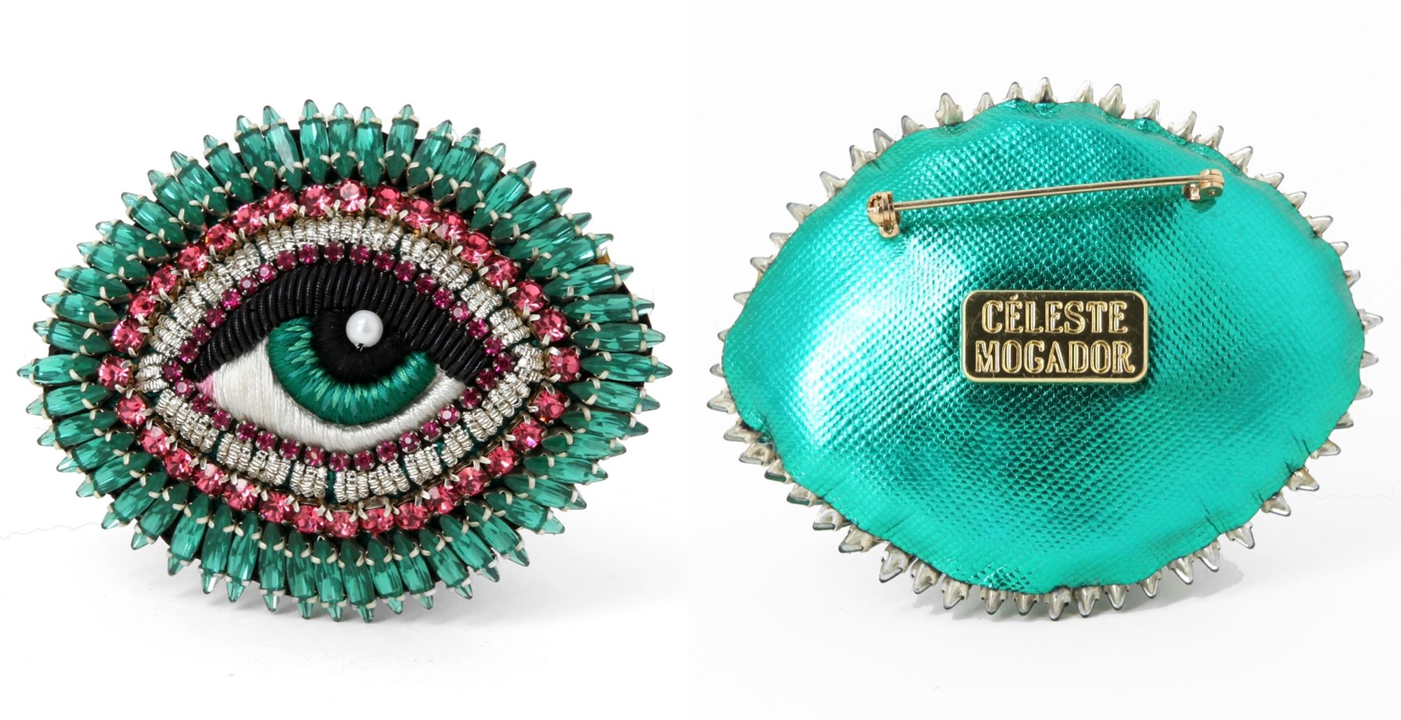 Eyestylist Exclusive: Céleste Mogador embroidered jewellery